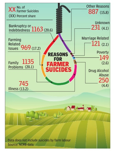 farmers suicide causes Journal of economics and sustainable development wwwiisteorg.